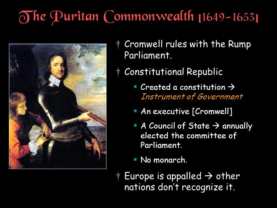 The Puritan Commonwealth [1649-1653]